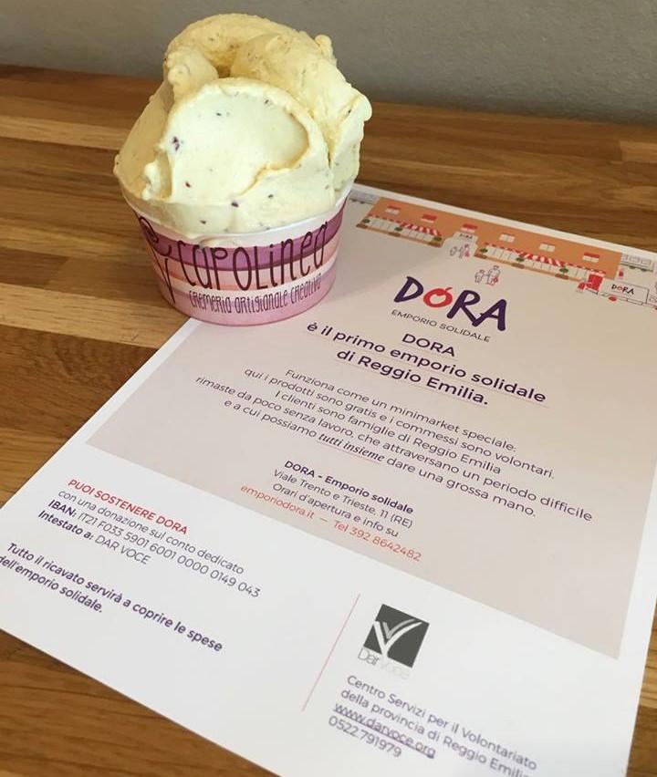 Un gusto di gelato dedicato a Dora