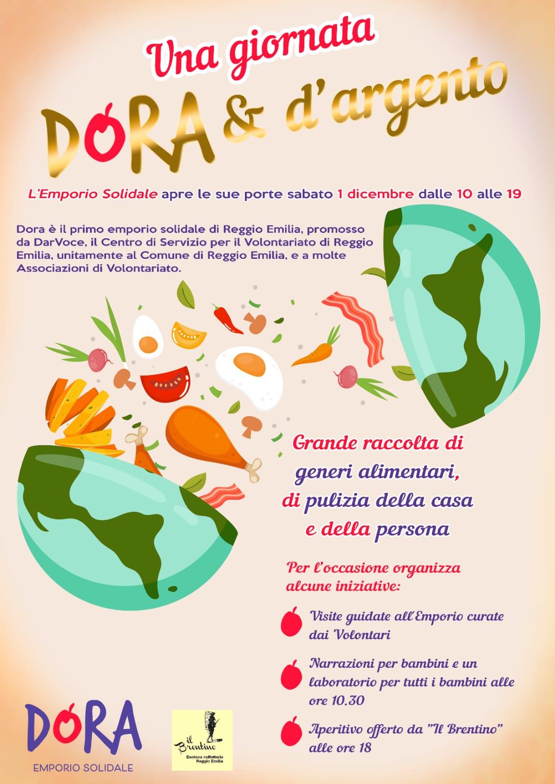 """""""Dora e Argento"""": open day dell'emporio solidale"""