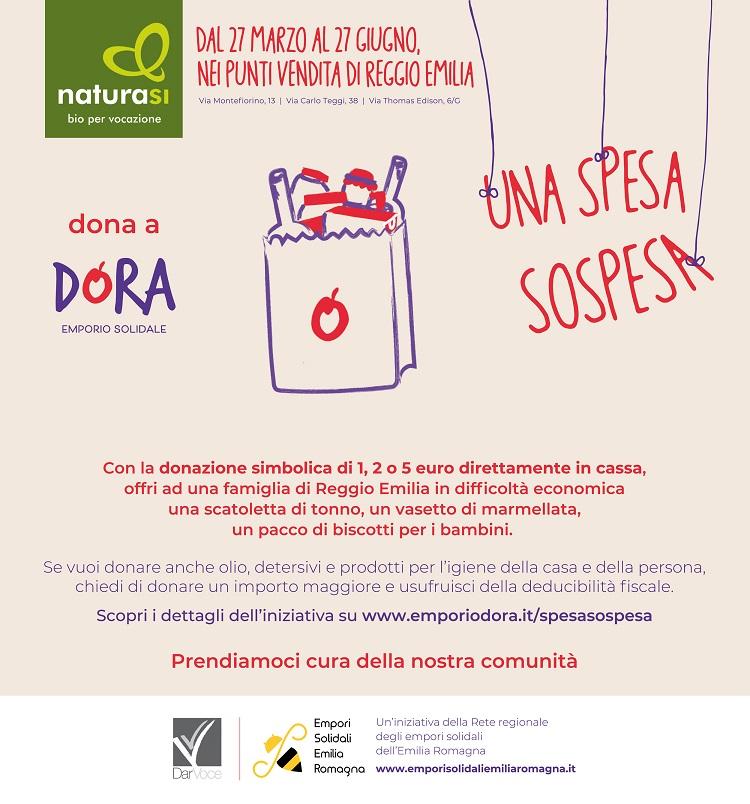 """Spesa Sospesa"" per Dora con Natura Sì"