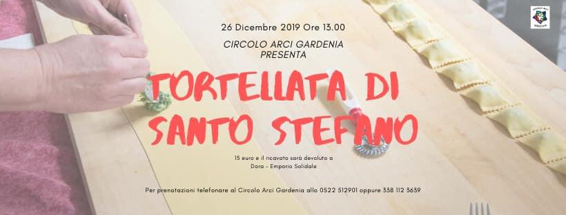 Pranzo di Santo Stefano al circolo Arci Gardenia per Dora