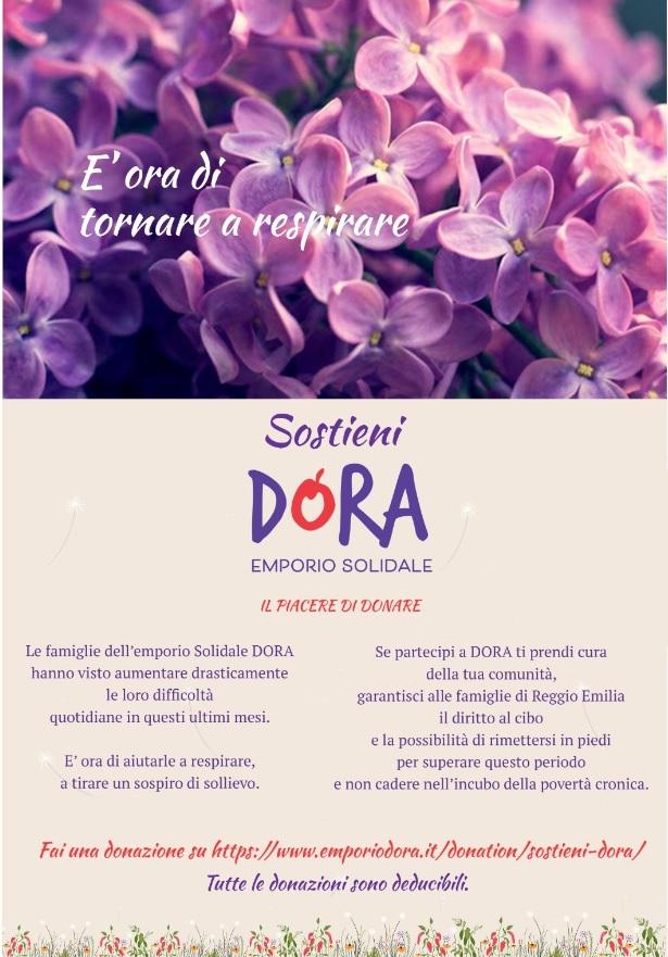 Il piacere di donare: un appello per sostenere Dora